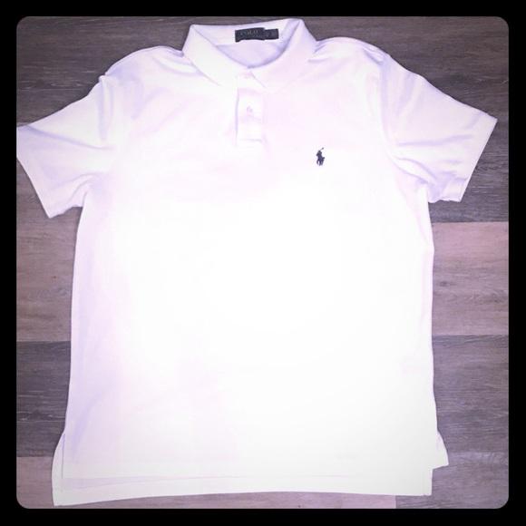 Polo by Ralph Lauren Other - White Short-Sleeve Polo Ralph Lauren